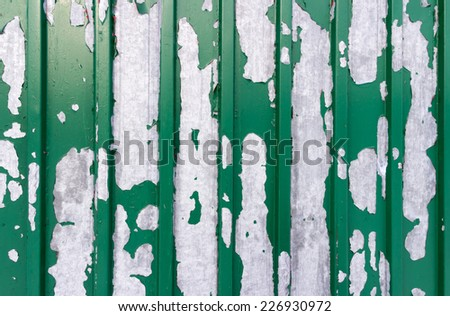 Grunge dirty metal wall, texture or background - stock photo