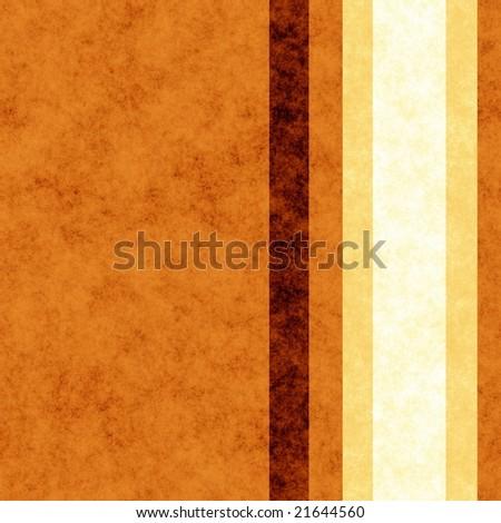 grunge effect orangey brown stripe wallpaper (seamless tiling) - stock photo