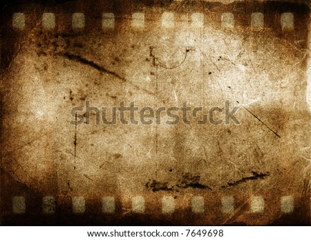Grunge Film Frame - stock photo