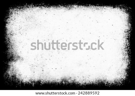 Grunge frame - Creative background with space for your design - stock photo
