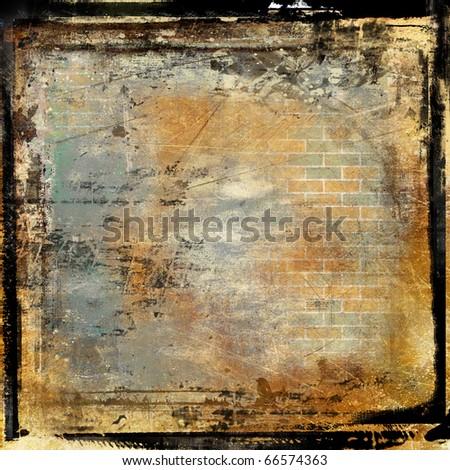 Grunge Framed Film Background Stock Illustration 66574363 - Shutterstock