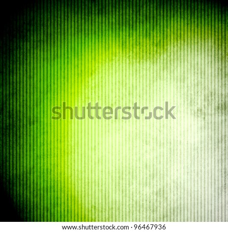 Grunge green abstract background - stock photo