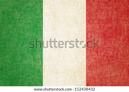 Grunge Italy Flag - stock photo