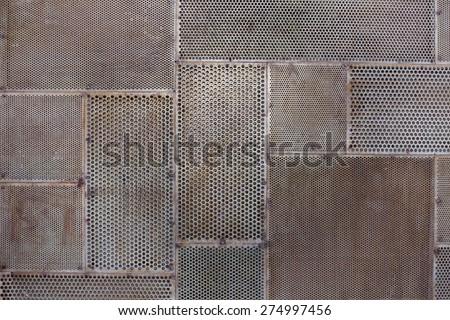 grunge metal texture background - stock photo