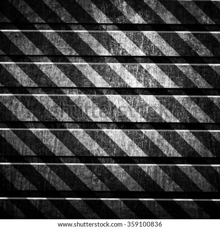 grunge metal with striped background - stock photo