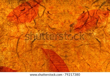 Grunge mulberry paper - stock photo