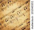 grunge musical background (author of notes G.Meyerbeer 1791-1864, publisher Julius Heinrich Zimmermann 1851-1923) Shadow-dance from
