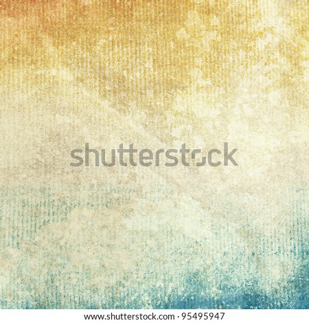 grunge old paper texture as abstract background - stock photo