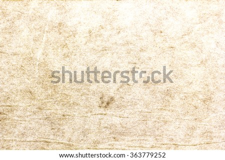 Grunge  Old Paper texture / Old vintage paper texture or background