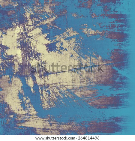 Grunge old texture as abstract background. With different color patterns: yellow (beige); purple (violet); blue - stock photo