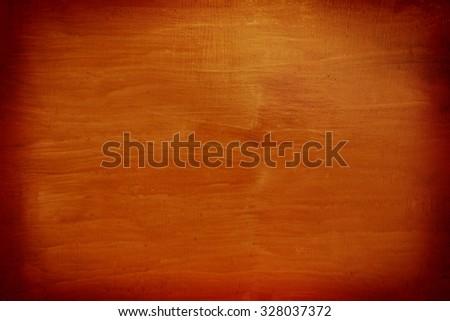 Grunge orange background with stains - stock photo