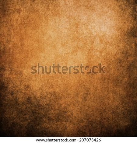 Grunge Orange texture, background. - stock photo