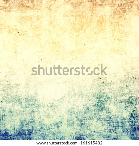 Grunge Paper Background with space for text or image. Textured Designed old grunge abstract style or concept. - stock photo