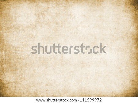 Grunge paper texture, may use as background - stock photo