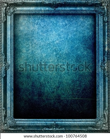 grunge picture frame
