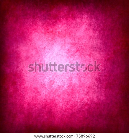 Grunge pink template - stock photo