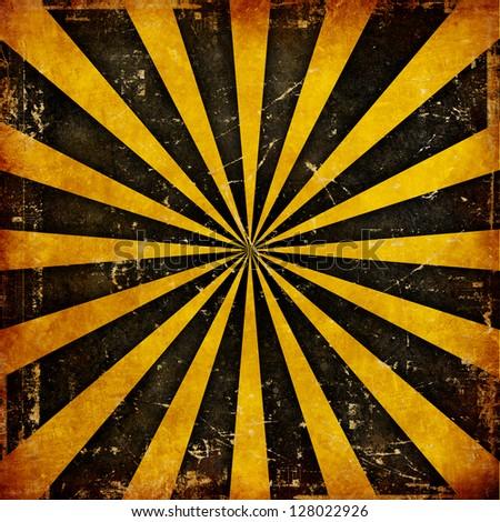 Grunge poster - stock photo