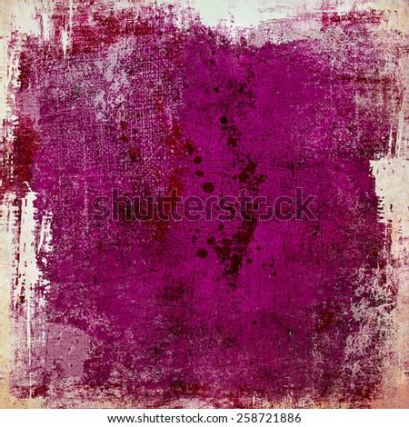 Grunge purple background - stock photo