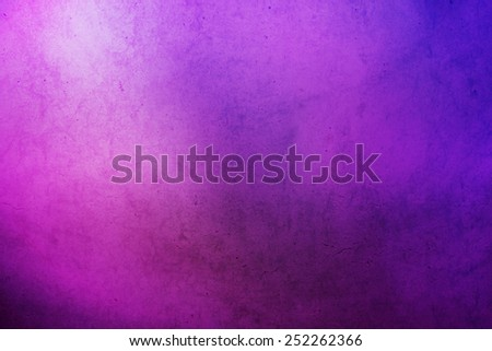grunge purple to blue gradient abstract background - stock photo