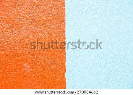 grunge red and blue (colour two tone) background - stock photo
