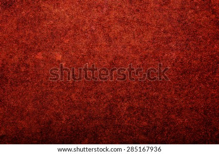 Grunge red texture or background, Cardboard. - stock photo