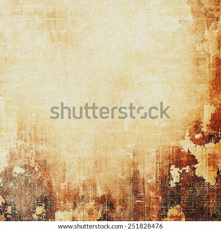 Grunge retro texture, elegant old-style background. With different color patterns: yellow (beige); brown; gray - stock photo