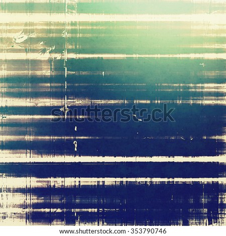 Grunge retro vintage texture, old background. With different color patterns: brown; blue; green; white - stock photo