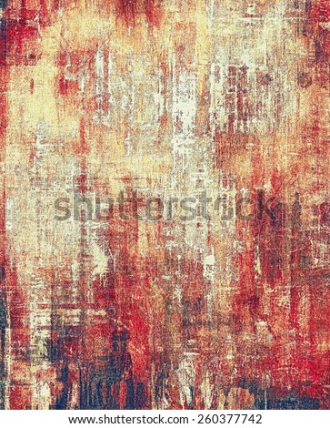 Grunge retro vintage texture, old background. With different color patterns: yellow (beige); brown; gray; red (orange) - stock photo