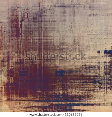 Grunge retro vintage texture, old background. With different color patterns: yellow (beige); brown; gray; purple (violet) - stock photo