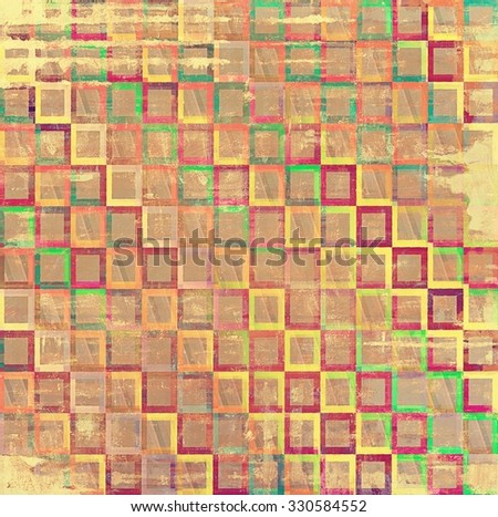Grunge retro vintage texture, old background. With different color patterns: yellow (beige); brown; purple (violet); red (orange); green - stock photo