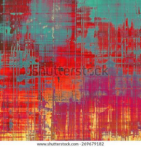 Grunge retro vintage textured background. With different color patterns: purple (violet); blue; red (orange); pink - stock photo