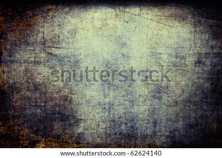 Grunge scratched texture, underground brown background - stock photo