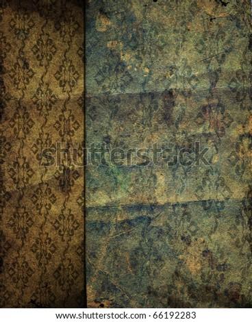Grunge shabby  paper texture - stock photo