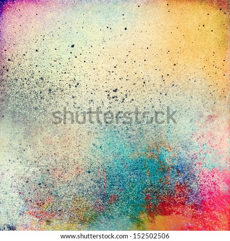 Paint Splatter Background Royalty Free Stock Image  Image