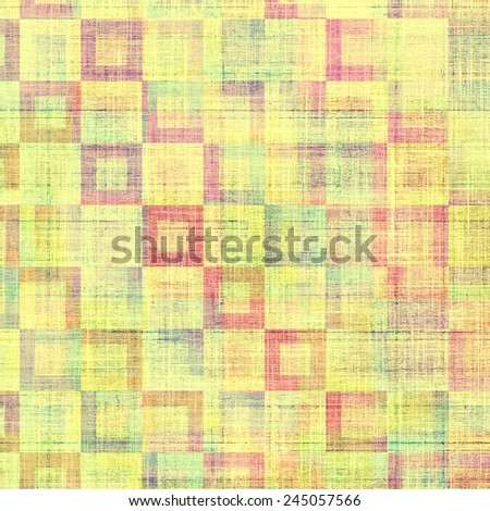 Grunge stained texture, distressed background with space for text or image. With different color patterns: purple (violet); yellow (beige); red (orange); green; blue - stock photo