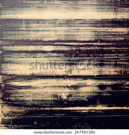 Grunge stained texture, distressed background with space for text or image. With different color patterns: yellow (beige); brown; black; gray - stock photo
