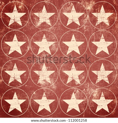Grunge stars background