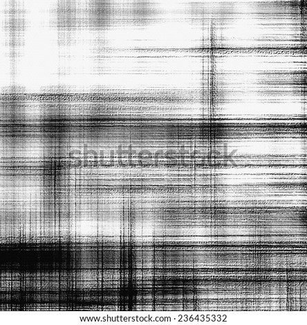 Grunge striped and checkered background in black and white colors for web design - stock photo