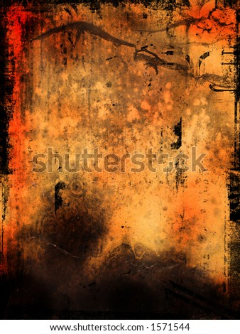 Grunge style background - stock photo