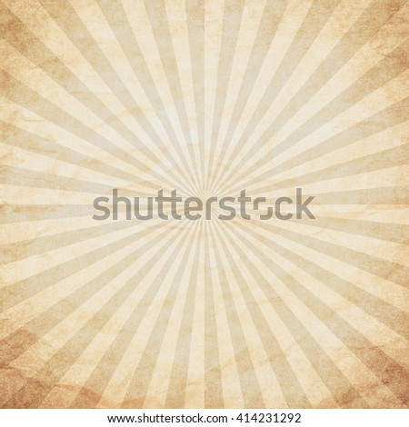 grunge sunburst vintage background and texture with space