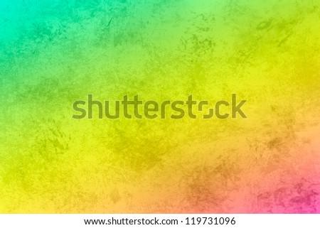 Grunge texture background,  aqua, yellow, pink wallpaper - stock photo
