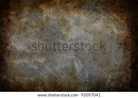 grunge texture background for multiple uses - stock photo