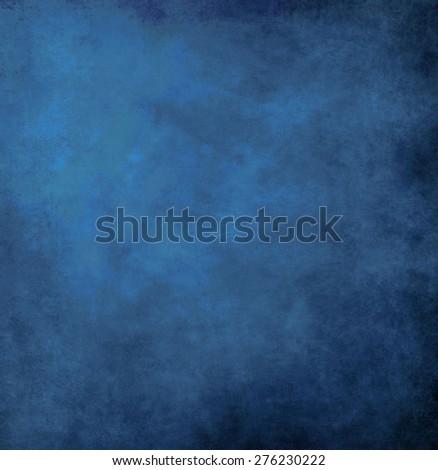 Grunge texture blue - stock photo