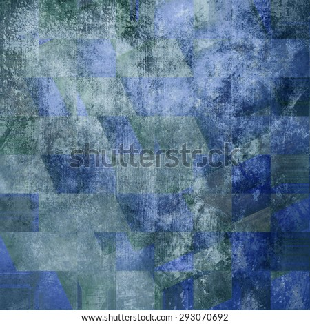 Grunge texture blue - stock photo