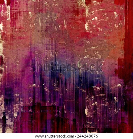 Grunge texture, distressed background. With different color patterns: purple (violet); red (orange); brown; blue; pink - stock photo