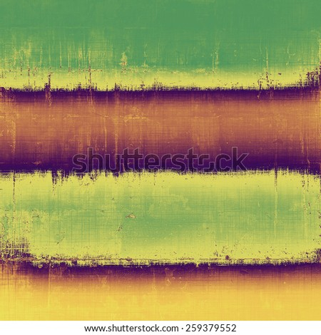 Grunge texture, may be used as background. With different color patterns: yellow (beige); brown; purple (violet); green - stock photo
