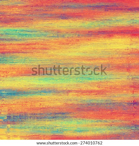 Grunge texture, may be used as background. With different color patterns: yellow (beige); purple (violet); blue; red (orange) - stock photo