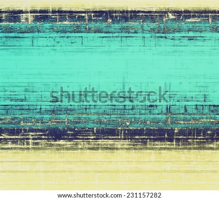 Grunge texture, may be used as background. With different color patterns: yellow; blue; gray - stock photo