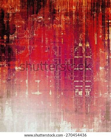 Grunge texture, Vintage background. With different color patterns: black; red (orange); purple (violet); pink - stock photo