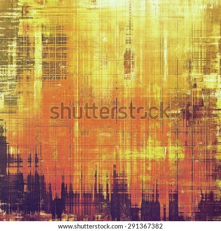 Grunge texture, Vintage background. With different color patterns: yellow (beige); brown; purple (violet); red (orange) - stock photo